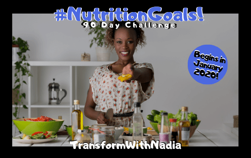 Nutrition Goals 90 Day Challenge for Energy & Health