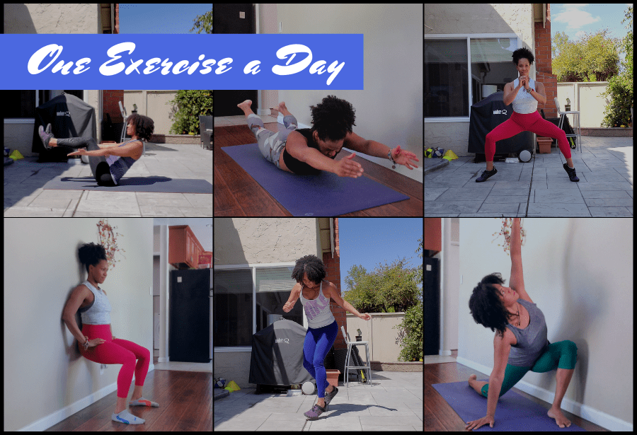 One Exercise a Day Challenge Transform with Nadia Digital Fitness Nutrition and Wellness Challenge